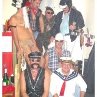 11.11. in der Linde: Es tanzten mit: Heinz Auer, Ralf und Udo Dietrich, Thomas Kofler, Armin Ott, Hubert Weber und Axel Zunker.
