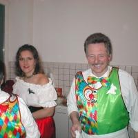 Ordensverleihung mit Fasnachtsball: Das Küchenteam.