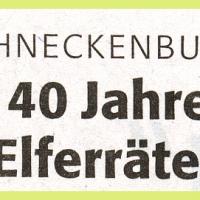 140 Jahre Elferrat: 50 Jahre Alex Volz, 50 Jahre Ludwig Degen und 40 Jahre Oskar Bürger.