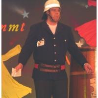 11.11. in der Linde: Ansager Axel Zunker führte durch das Programm.