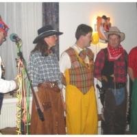 Ordensverleihung der Schneckenburg: Landvogt Wolfgang Jensch ehrte die Jubilare der Schneckenburg.