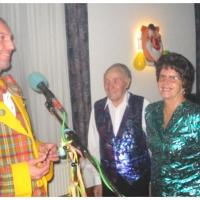 Ordensverleihung der Schneckenburg: Ehrenpräsident Alex Volz mit seiner Frau Clair bekamen Ihre Orden.