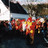 Rosenmontag: Besuch beim Närrischen Jahrmarkt in Freudental.