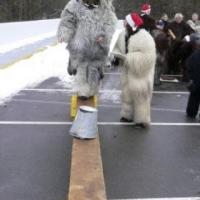 Schneeschreck-TÜV: Die Mitglieder mussten beweisen, dass sie Fit für die Fasnacht waren.
