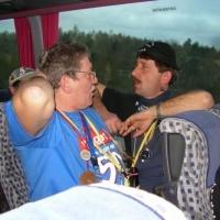 Umzug in Aichhalden: Der Schneeschreck war im Bus unterwegs.