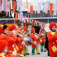 Schmutziger Donnerstag: Besuch des Käthe-Luther-Kindergarten im Paradies.