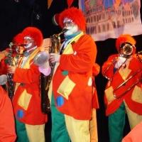 Schmutziger Donnerstag: Die Clowngruppe beim Altana-Ball im K9.
