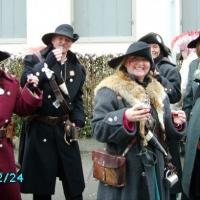 Umzug in Konstanz: Der Räuber war auch dabei.