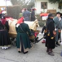 Hegau-Bodensee-Umzug in Hilzingen: Der Räuber beim Umzug.
