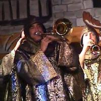 11.11. in der Linde: Die Clowngruppe unter der Leitung von Gerd Zachenbacher eröffnete den Abend.