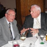 """80. Geburtstag von Paul Bischoff: Im Gespräch mit Walter """"Wafrö"""" Fröhlich."""