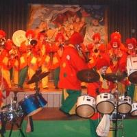 Rosenmontag: Die Clowngruppe konnte mit Ihrer Musik begeistern.