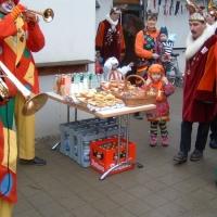 Schmutziger Donnerstag: Besuch im Maria-Hilf Kindergarten in Allmannsdorf.