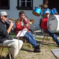 Probewochenende der Clowngruppe in Herrischried.