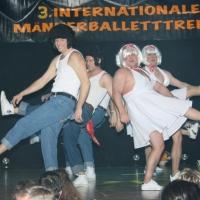 Männerballett-Treffen vom Schbeeschreck: Das Männerballett der Schneckenburg.