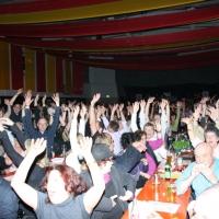 Männerballett-Treffen vom Schbeeschreck: Das Publikum in der Wollmatinger Halle war begeistert.
