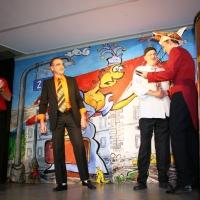 11.11. in der Linde: Gerd Zachenbacher, Bernd Sum und Bernd Mutter wurden zum Ehrenelferrat ernannt.