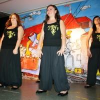 """11.11. in der Linde: Das Schneckenburg-Ballett """"Girls United"""" mit """"Summertime"""" unter der Leitung von Karin Ott."""