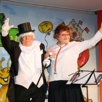 11.11. in der Linde: Johannes Heesters mit seiner Simone gratulierten der Schneckenburg zum 90. Geburtstag.