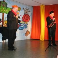 11.11. in der Linde: ... Robert Welti und Hubert Weber ...