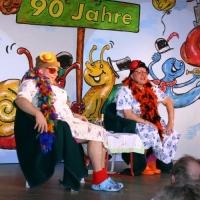 11.11. in der Linde: Hermine und Ilse vom Königsbau. Es spielten Robert Welti und Hubert Weber.