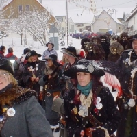 Hegau-Bodensee-Umzug in Hattingen: Dann folgte der Räuber.