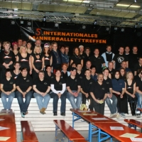 Männerballett-Treffen vom Schneeschreck: Das Helfer-Team.