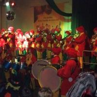 Rosenmontag mit der Clowngruppe: Der Abschluß bildete der Froschenball in Radolfzell.