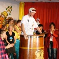 11.11. in der Linde: Beim Finale bedankte sich Präsident Jürgen Stöß bei den Akteuren und dem Publikum.
