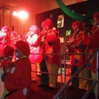 Rosenmontag mit der Clowngruppe: Besuch in Radolfzell bei der Froschenzunft.