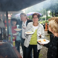 Boule-Turnier der Schneckenburg: Nach dem Spiel durfte gefeiert werden.