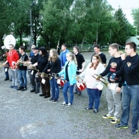 Boule-Turnier der Schneckenburg: Zur Siegerehrung spielte der Fanfarenzug,