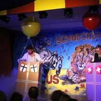 """11.11. in der Linde: """"Über den Wolken"""". Die Ballon-Fahrer Ekki Moser und Heinz Auer schauten sich die Welt von oben an."""
