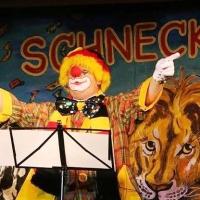 """11.11. in der Linde: Robert Welte sang über den """"Polit-Zirkus""""."""