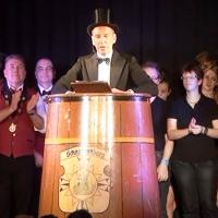 11.11. in der Linde: Präsident Jürgen Stöß bedankte sich bei den Akteuren und dem Publikum.