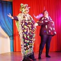 11.11. in der Linde: Der Papageno wurde dargestellt von Michaela Suckow und Pedi Schreiner.