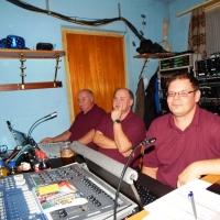 11.11. in der Linde: Das Team der Technik stand auch parat.