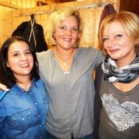 11.11. in der Linde: Die Schminkfeen Franca Bockmaier, Dagmar Deutinger und Andrea Schöller hatten Ihre Arbeit getan.
