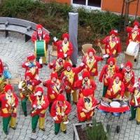 Am Rosenmontag besuchte die Clowngruppe das Don Bosco Haus.