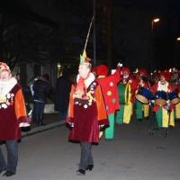 Narrenbaumstellen auf dem Gottmannplatz: Danach folgte die Clowngruppe.