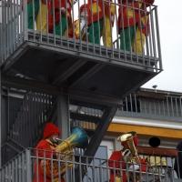 Rosenmontag mit der Clowngruppe: Besuch beim Pflegeheim Don Bosco.