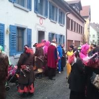 Schmutziger Donnerstag: Besuch bei Susi Wandtke. Danach gab es noch eine kleine Stärkung.