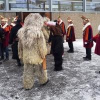 Schmutziger Donnerstag: Die Schneckenburg befreite die Gebhardschule.