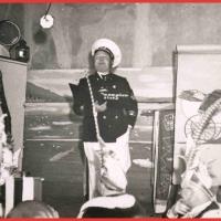 Bunter Abend 1938: Betriebsleiter Willi Gottmann als Kapitän.