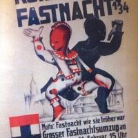 Umzug Fasnachtssonntag 1934: Motto: Fasnacht wie sie früher war.