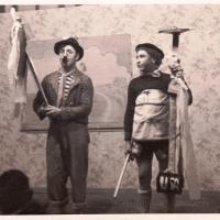 Bunter Abend: Sketch mit Fritz Ehrler und Hässler.