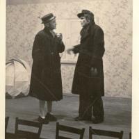 Bunter Abend: Die beiden Spätheimkehrer.