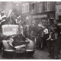 Schmutziger Donnerstag: Die Weckerkolonne auf der Bodanstrasse.