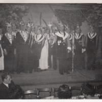 Bunter Abend: Jeder bekam seinen Orden hin, von Ehrenpräsident bis Benjamin.