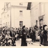 Umzug am Fasnachtssonntag in Wollmatingen: Der Fanfarenzug unter der Leitung von Alex Volz spielte begeistert auf.